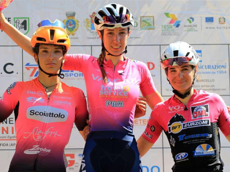 Silvia Magri Giro delle Marche Valcar ciclismo