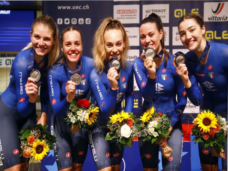 Chiara Consonni è seconda nella quarta tappa del Women's Tour, Martina Alzini è argento agli  Europei di pista di Grenchen nell'inseguimento a squadre