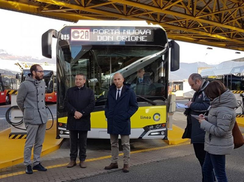 AUTOBUS ELETTRICI per Bergamo, buona la prima. PRESENTATO IL PRIMO URBINO |  Travel & Service | Servizi a noleggio in tutta Italia