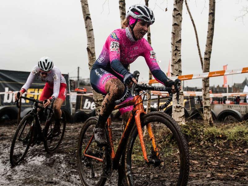 ciclismo femminile rosa ciclocross Belgio