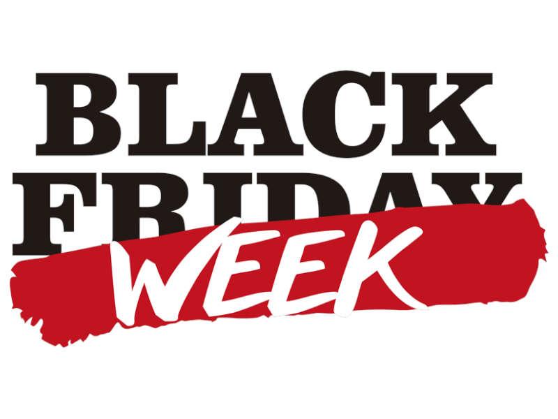 black week sconti