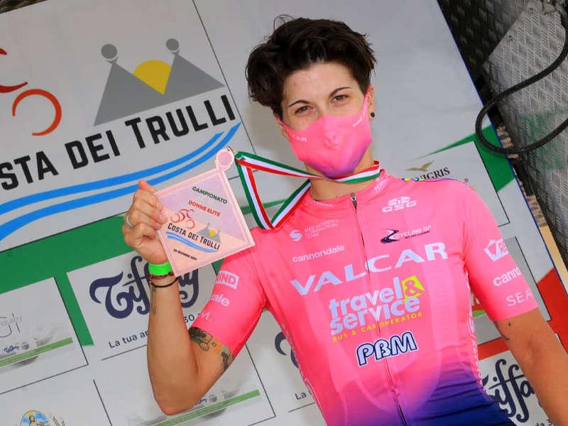Ilaria Sanguineti ciclismo femminile campionati italiani strada