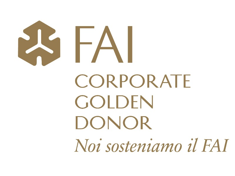 Da inizio Febbraio sono riaperti tutti i beni del FAI-Fondo Ambiente Italiano. Noi sosteniamo il FAI aderendo alla campagna Corporate Golden Donor.