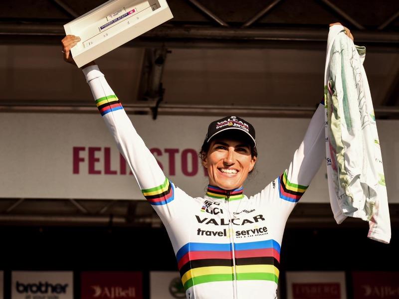 La campionessa mondiale Elisa Balsamo vince l'ultima tappa del Women's Tour. Dal settore giovanile arriva anche il titolo italiano nella crono a squadre allieve