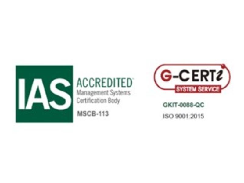 ABBIAMO OTTENUTO LA CERTIFICAZIONE UN ENI ISO 9001:2015
