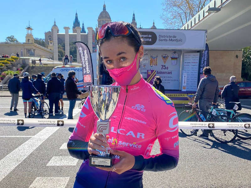 elisa balsamo rosa ciclismo femminile