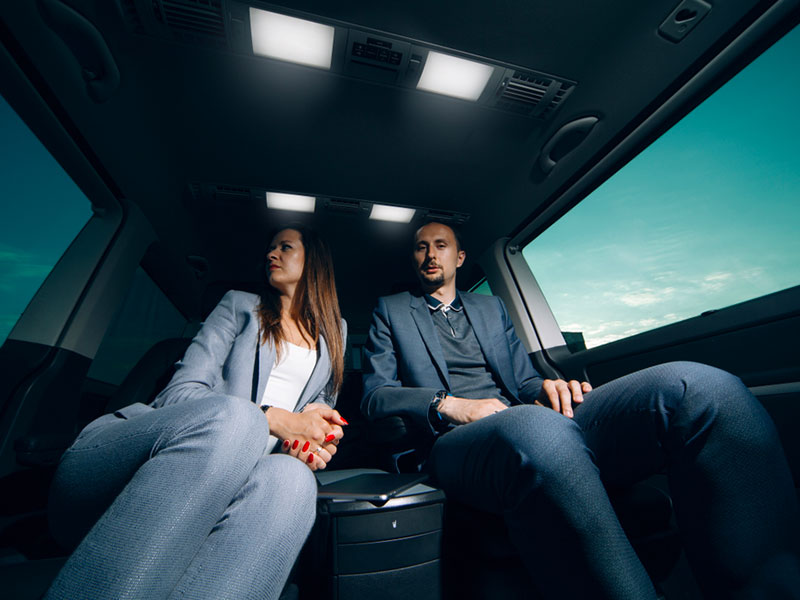 Auto Luxury Coppia interno auto - Travel and Service
