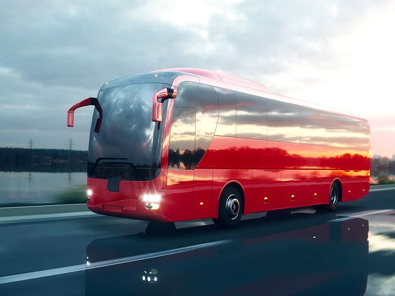 Noleggio pullman 55-56 posti Red - Travel & Service