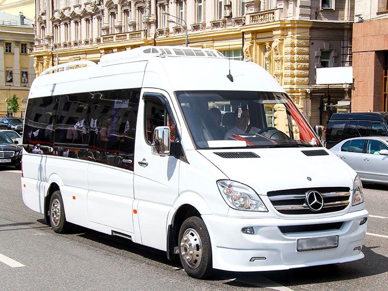 Noleggio minibus 14-20 posti bianco Travel And Service