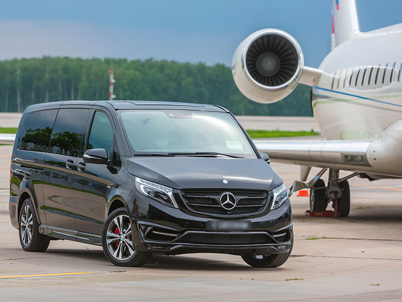 Minivan 6-8 posti Mercedes Classe V Aereo - Travel and Service